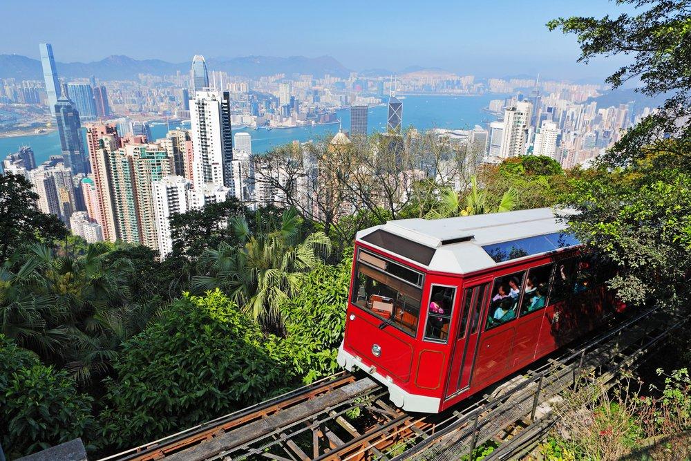 Xe điện Peak Tram, biểu tượng du lịch 125 năm tuổi của du lịch Hong Kong