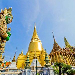 Chùa Phật vàng - du lịch Thái Lan